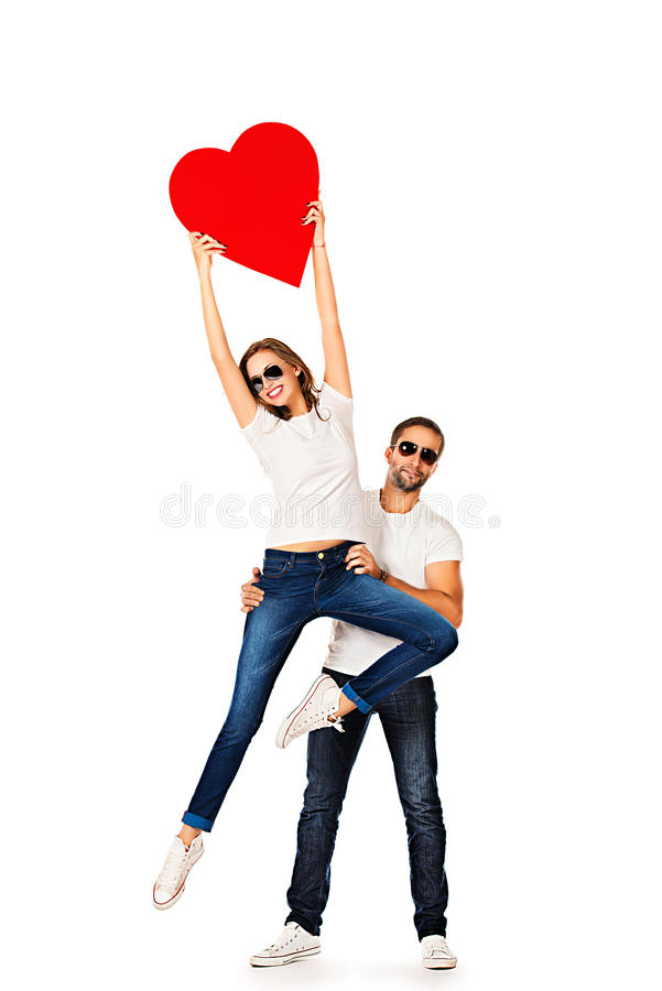 Wings of love royalty free stock photo