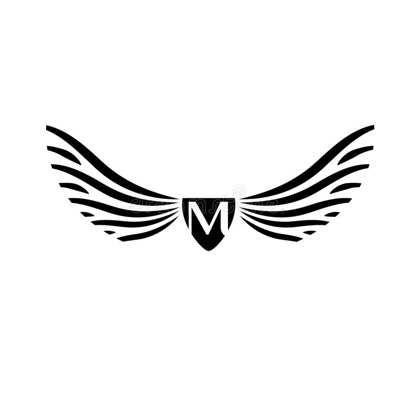 Wings vector logo . Wings emblem. Wings icon vector illustration