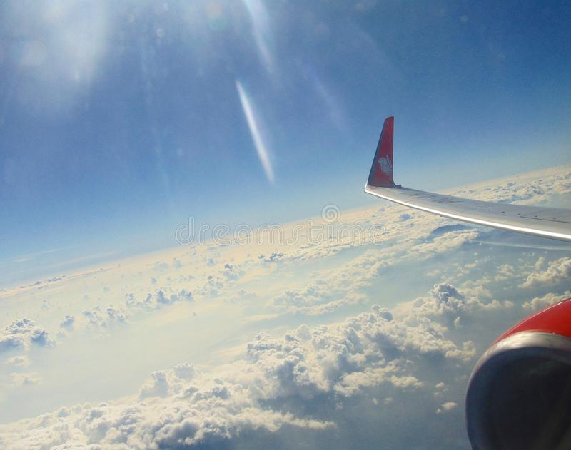 Wingsview Lion Air stockbilder