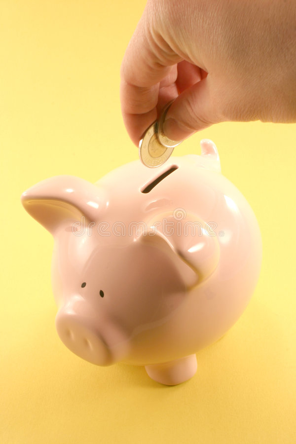 świnka Banku Zdjęcia Stock