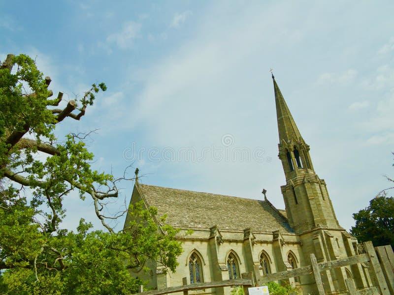 Winkel der Kirche stockbild