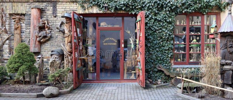 Winkel Litouwse Herinneringen royalty-vrije stock foto