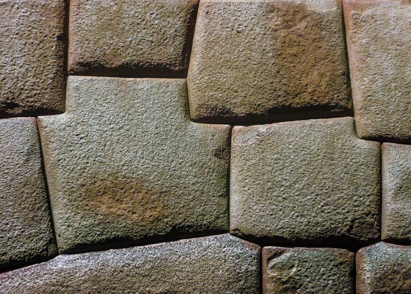 Winkel-Stein Inca Architectures 8 stockbilder