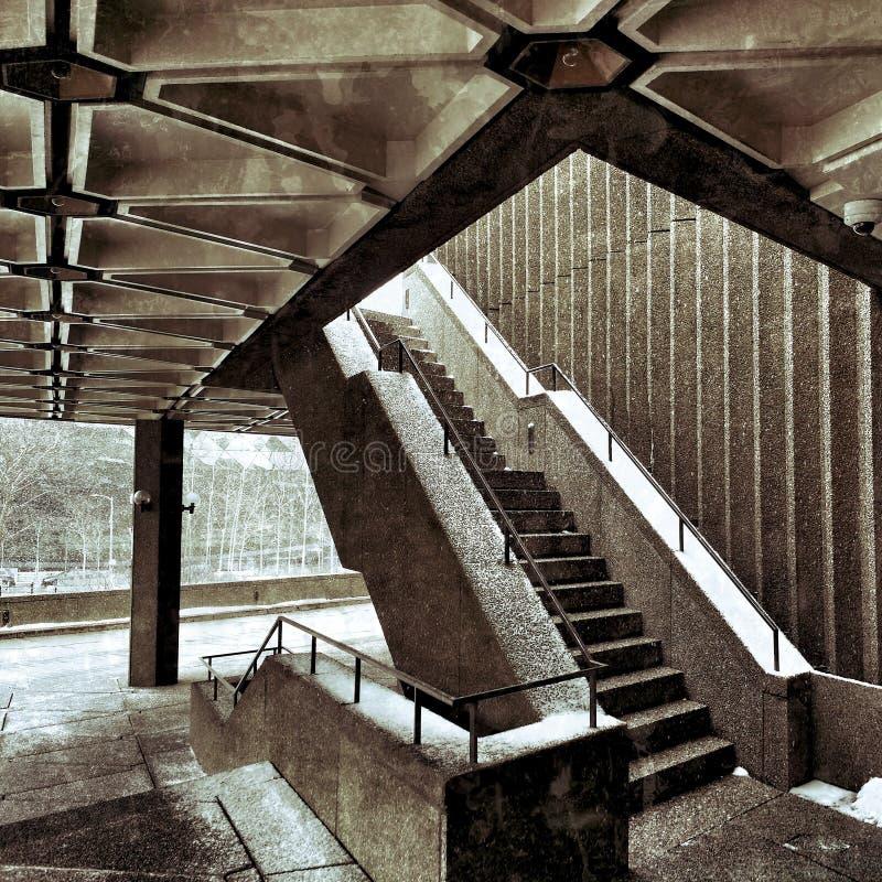 Winkel und Treppe lizenzfreies stockbild