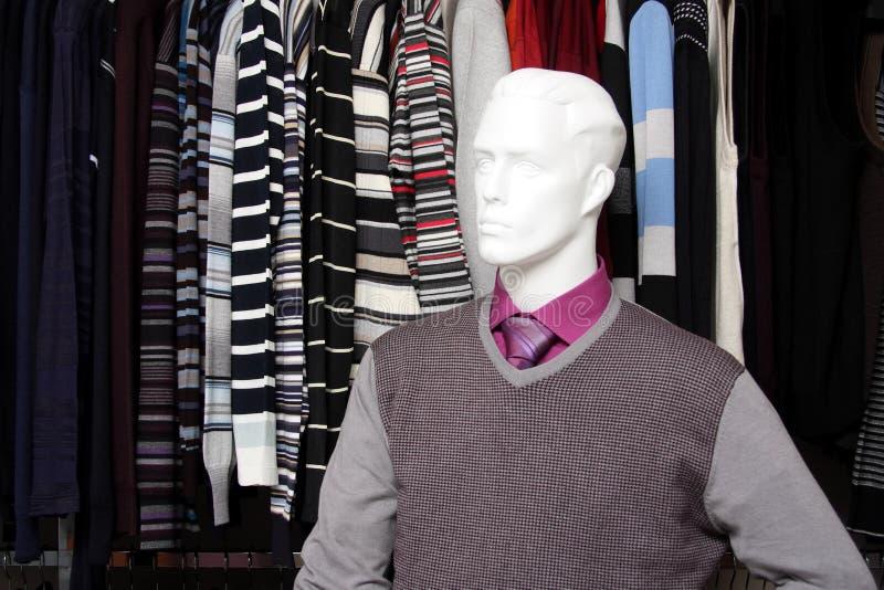 Winkel van kleren royalty-vrije stock fotografie
