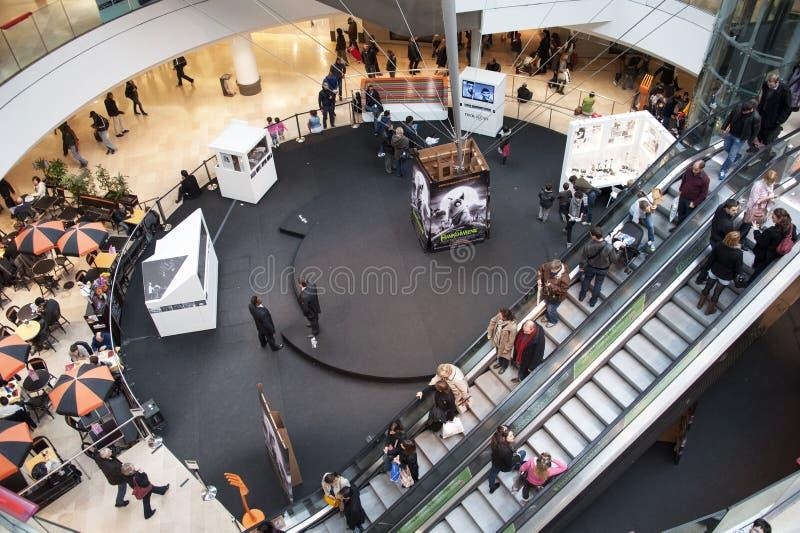 Winkelcentrum royalty-vrije stock afbeelding