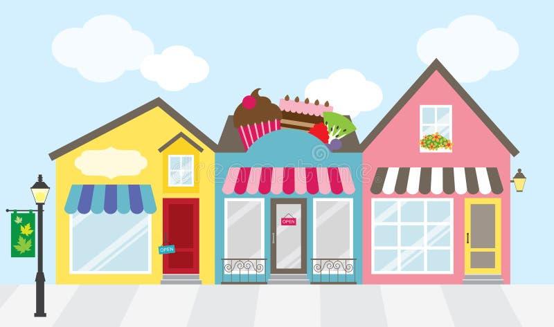 Winkelcomplex royalty-vrije illustratie