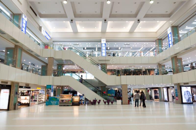 winkelcomplex binnenland stock fotografie
