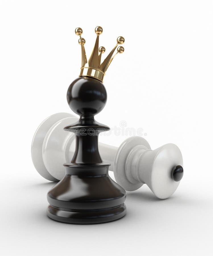 Winnaar. royalty-vrije illustratie