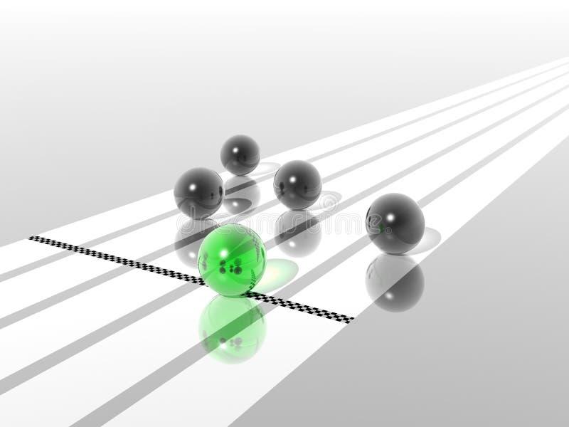 Winnaar vector illustratie