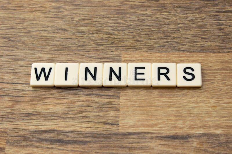 winnaars royalty-vrije stock foto's
