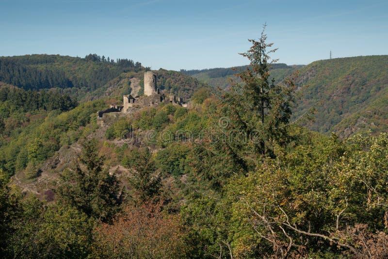 Winneburg kasztel, Cochem, Niemcy obraz royalty free