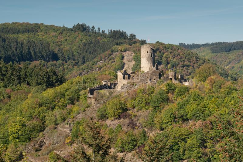 Winneburg kasztel, Cochem, Niemcy zdjęcia royalty free