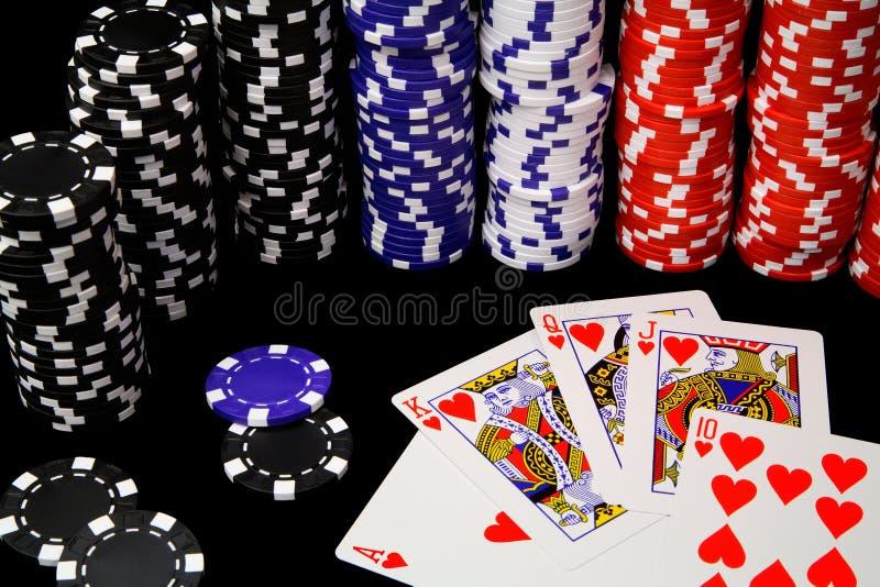 Winnende Hand royalty-vrije stock foto's