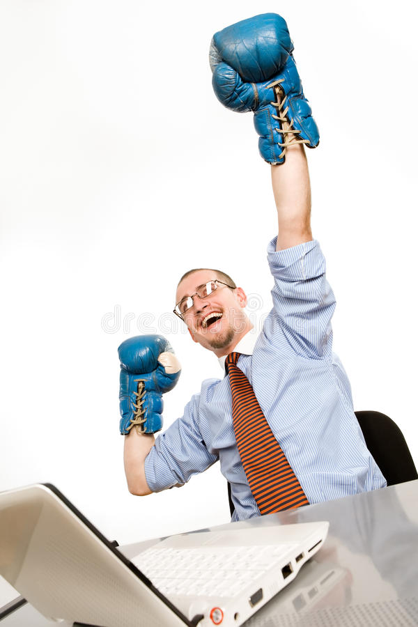 Winner royalty free stock image