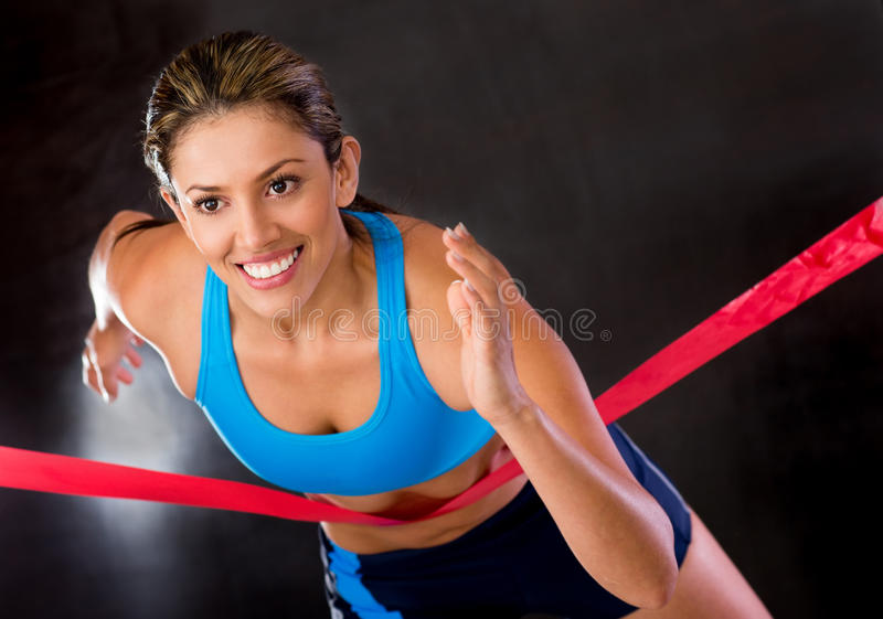 Download Winner athlete stock image. Image of adult, athletic - 25593153