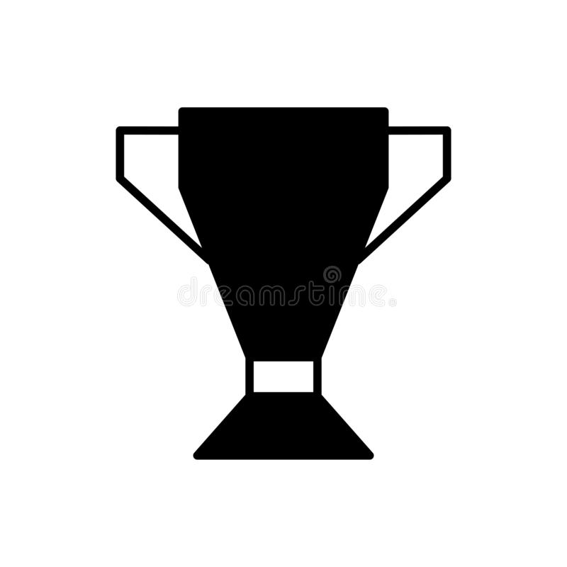 Winner cup stock illustration