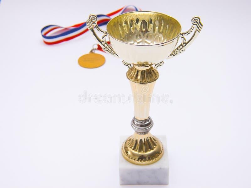 Winner trophy stock photography