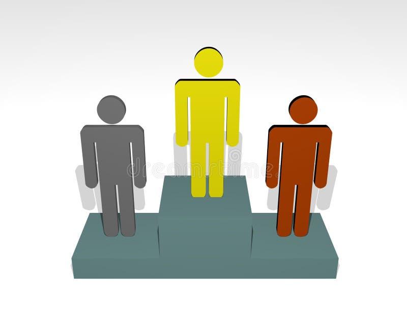 Download Winners stock illustration. Image of concept, awards, illustration - 605531