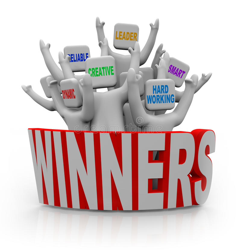 Free Winners - People With Teamwork Qualities Royalty Free Stock Photography - 19358467