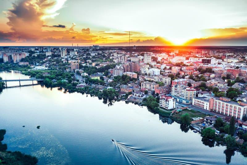 Winnica Ukraina widok na miasto Winnica zdjęcie royalty free