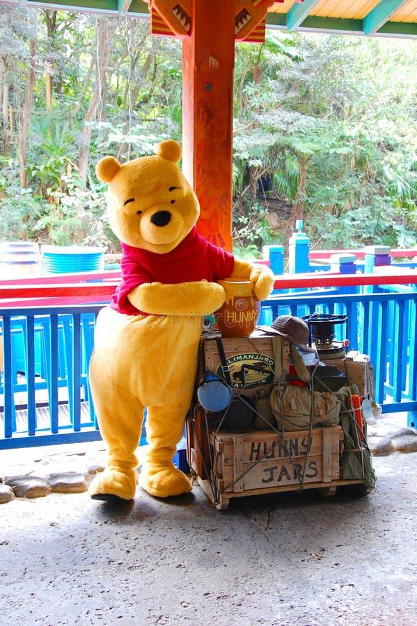 Winnie Pooh royalty-vrije stock afbeeldingen