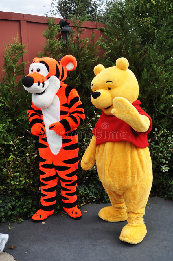 Download Winnie-the-Pooh And Tigger In Disney World Editorial Photo - Image: 19097091