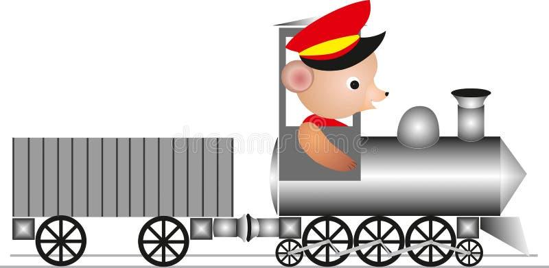 Download Winnie`s train stock illustration. Illustration of transport - 43235908