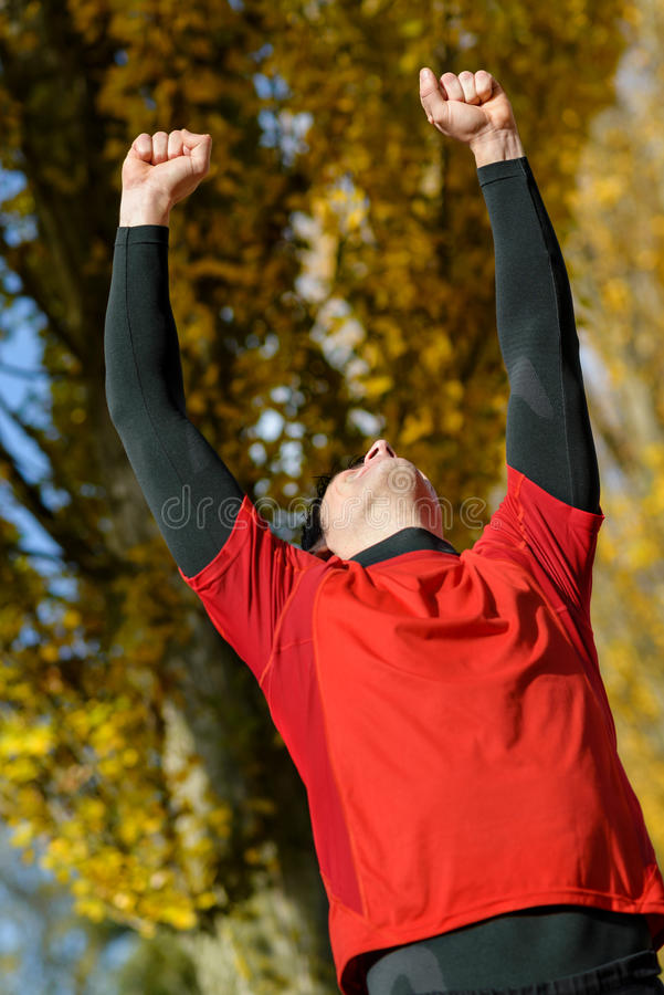 Download Winning athlete stock photo. Image of healthy, adult - 27820204