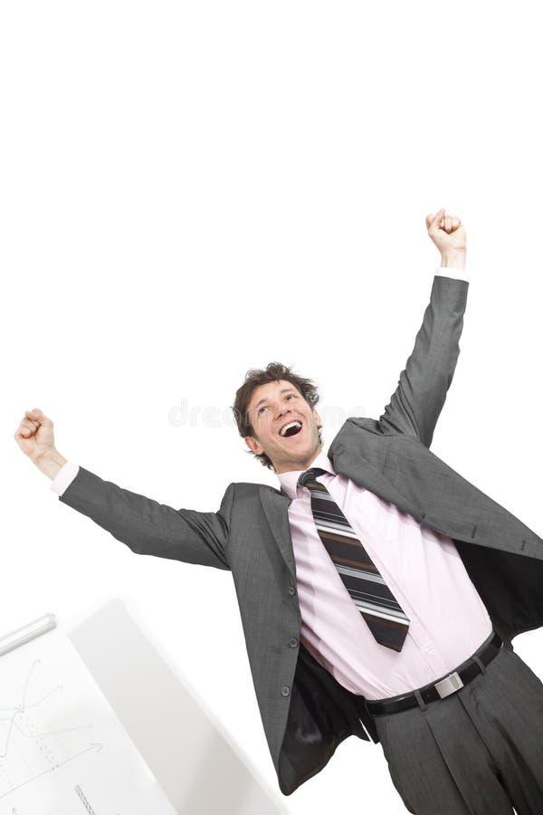 Download Winning businessman stock image. Image of background, good - 9602411