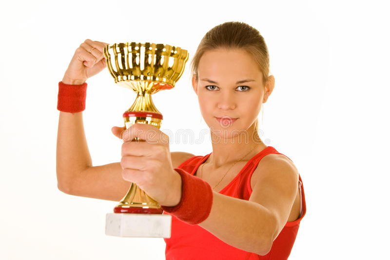 Download Winning cup stock photo. Image of successful, first, greatest - 16319816