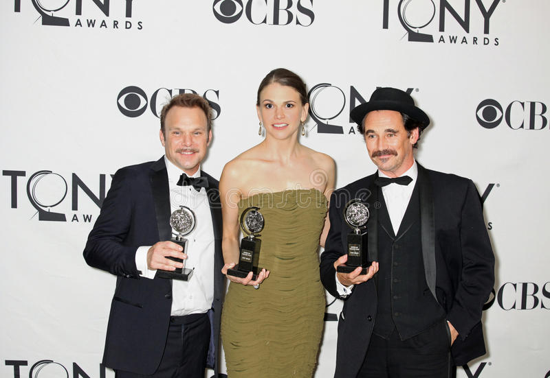 Download Winning Double Tonys For Trio Editorial Stock Image - Image: 20994639