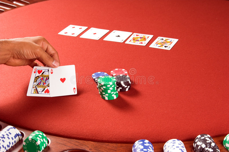Winning Hand royalty free stock photos