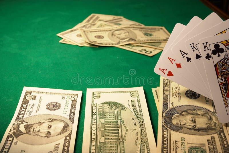 Winning hand royalty free stock photo
