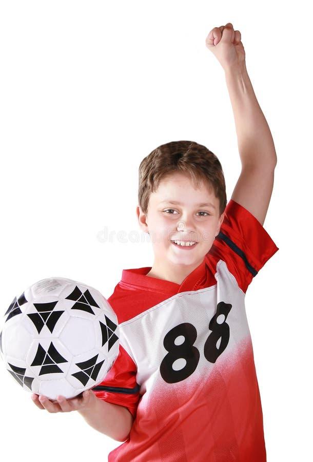 Winning kid royalty free stock image