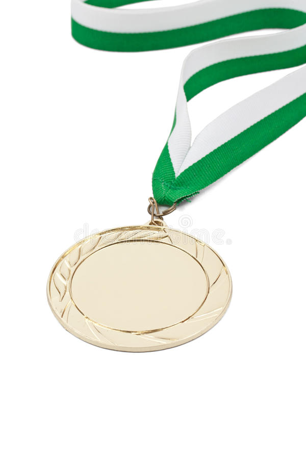 Winning medal stock images