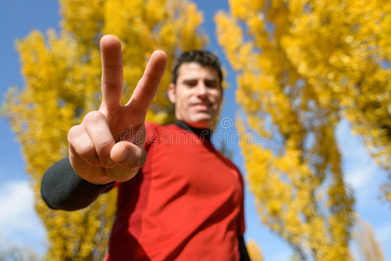 Download Winning sport concept stock photo. Image of fall, focus - 27820114