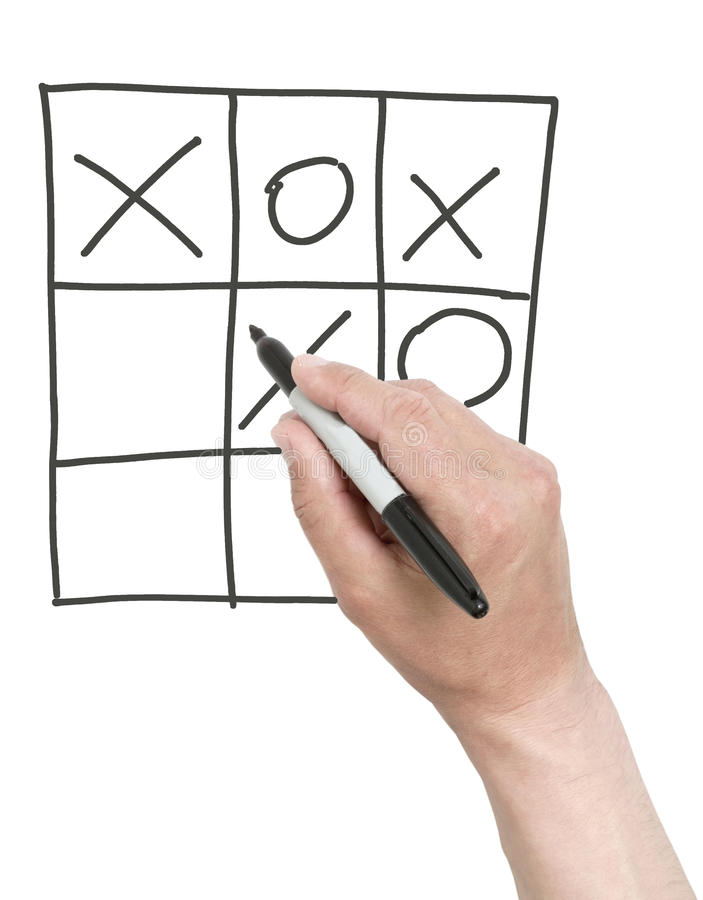 Download Winning Tick-tack-toe Game. Stock Image - Image: 31026977