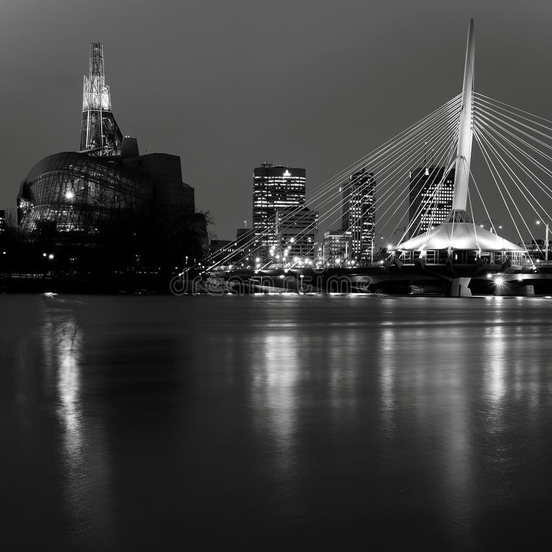 Winnipeg ορίζοντας στοκ φωτογραφίες με δικαίωμα ελεύθερης χρήσης