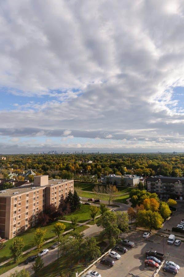 Winnipeg πόλη στοκ φωτογραφία