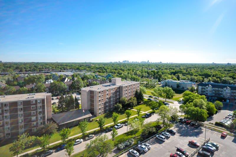 Winnipeg πόλη στοκ φωτογραφίες με δικαίωμα ελεύθερης χρήσης