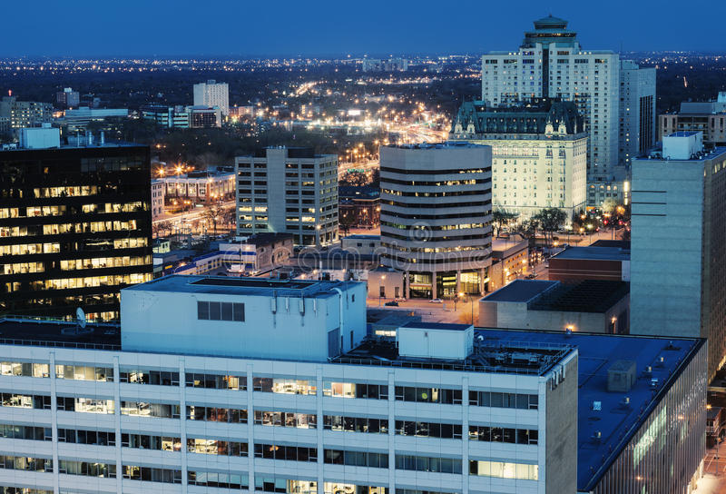 Winnipeg architektura zdjęcie stock