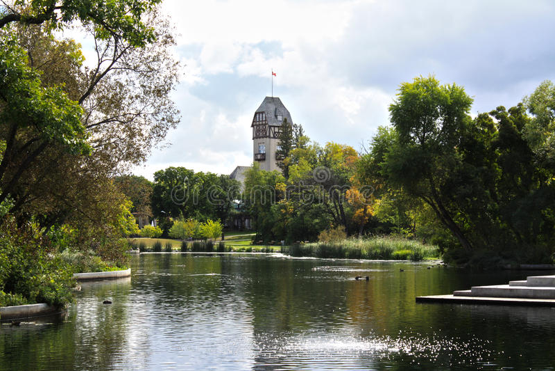 Winnipeg, Assiniboine parka pawilon - obrazy royalty free