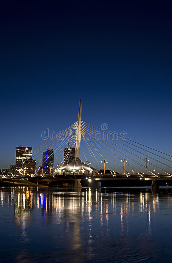 Winnipeg Manitoba stock image