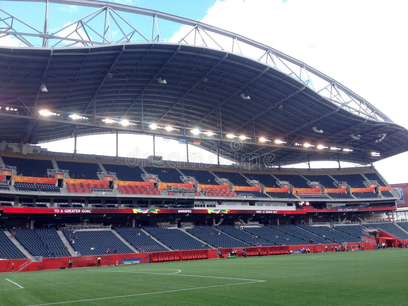 Winnipeg stadion arkivbild