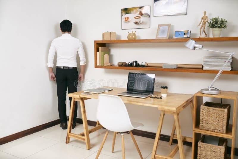 Winny kierownik w biurze obrazy stock