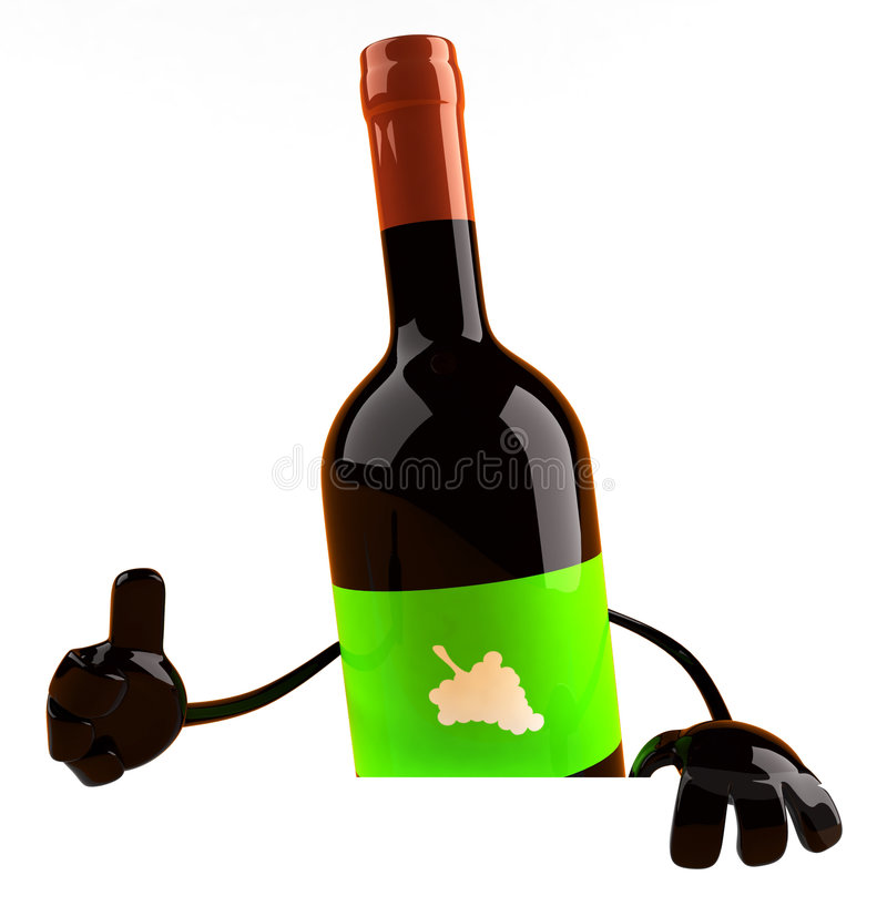 wino ilustracja wektor
