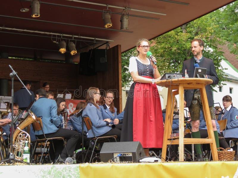 Wino festiwal w Poysdorf zdjęcia royalty free