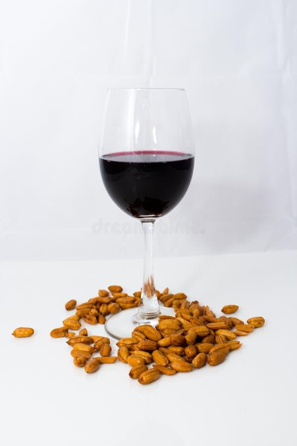 Wino i arachid zdjęcie royalty free