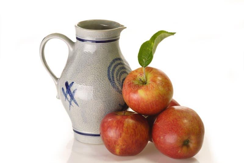 wino jabłkowe zdjęcia stock